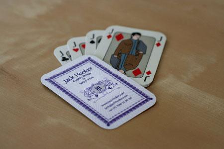 Brightons best business cards freelance copywriter web seo jackhookercards reheart Gallery