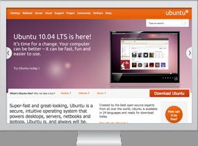 Ubuntu.com homepage